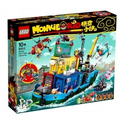 LEGO Monkie Kid 80013 Monkie Kid's Team Secret HQ