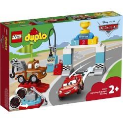 LEGO DUPLO brand Cars 10924 Lightning McQueen's Race Day