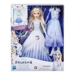 Disney Frozen 2 Elsa's Transformation Fashion Doll