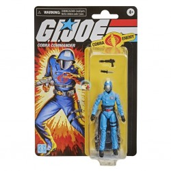 G.I. Joe Retro Collection Cobra Commander 3.75-Inch Collectible with Accessories