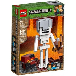 LEGO Minecraft 21150 Skeleton BigFig with Magma Cube