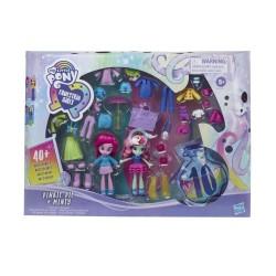 My Little Pony Equestria Girls Fashion Squad Pinkie Pie and Minty Mini Doll Set