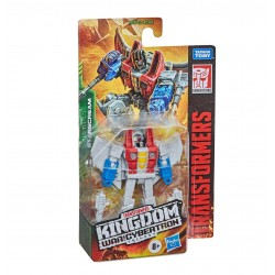 Transformers Toys Generations War for Cybertron: Kingdom Core Class WFC-K12 Starscream Action Figure