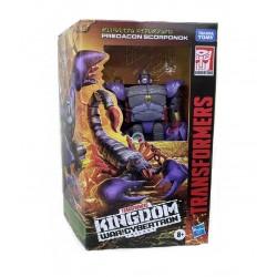 Transformers Generations War for Cybertron: Kingdom Deluxe Predacon Scorponok Action Figure
