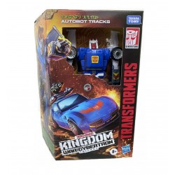 Transformers Generations War for Cybertron: Kingdom Deluxe Autobot Tracks Action Figure