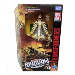 Transformers Generations War for Cybertron: Kingdom Deluxe Wingfinger Action Figure
