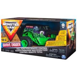 Monster Jam 1:24 Remote Control - Grave Digger