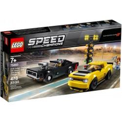LEGO Speed Champions 75893 2018 Dodge Challenger SRT Demon