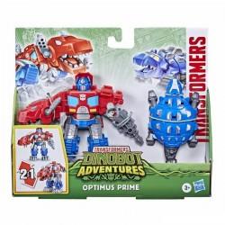 Transformers Dinobot Adventures Dinobot Defenders Optimus Prime 2-Pack Figure
