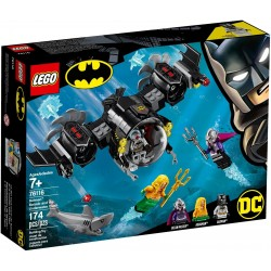 LEGO DC Super Heroes 76116 Batman Batsub and the Underwater Clash