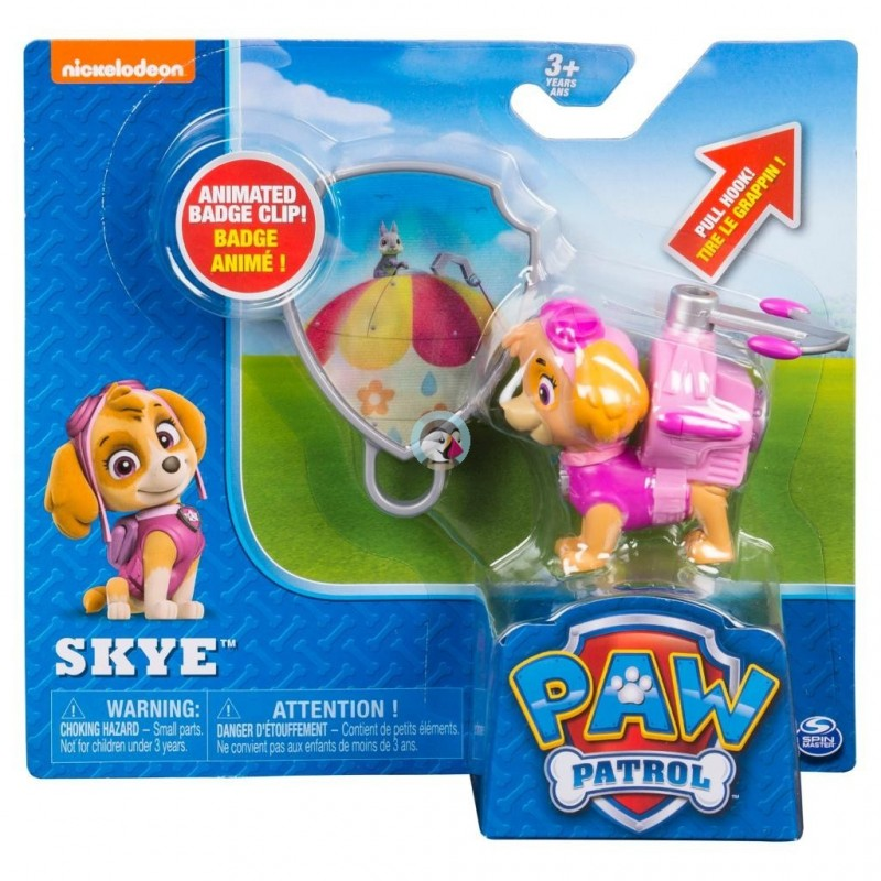 for Ages 3 and Up PAW Patrol Skye/'s Rescue Racer with Extendable Hook