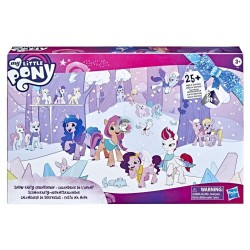My Little Pony: A New Generation Movie Snow Party Countdown Advent Calendar Toy for Kids - 25 Surprise Pieces