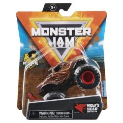 Monster Jam 1:64 Single Pack F21 Wolfs Head Wheelie Bar