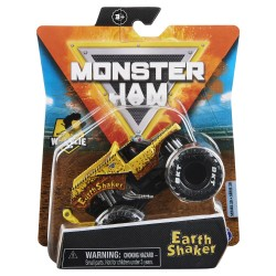 Monster Jam 1:64 Single Pack F21 Earth Shaker Wheelie Bar