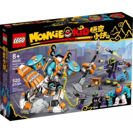 LEGO Monkie Kid 80025 Sandy's Power Loader Mech