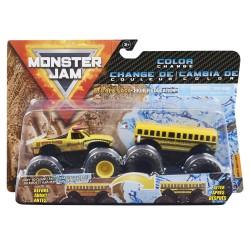 Monster Jam 1:64 2 Packs - Double Down Showdown - El Toro Loco vs Higher Education