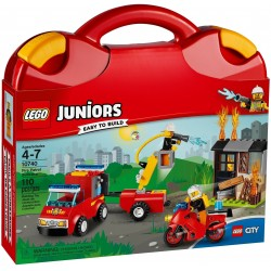 Lego Juniors 10740 Fire Patrol Suitcase