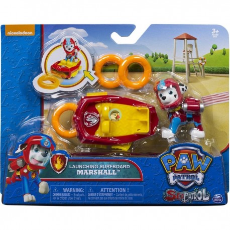 Paw Patrol Sea Patrol Deluxe - Launching Surfboard Marshall