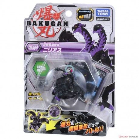Bakugan 004 Nillious Black Basic Pack